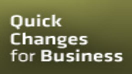 Quick Change for Business - A CNBC Special Report