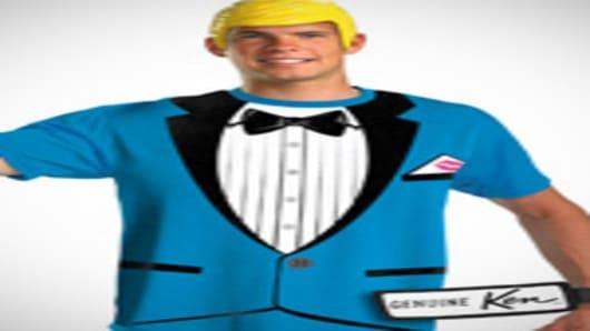 Ken Doll costume