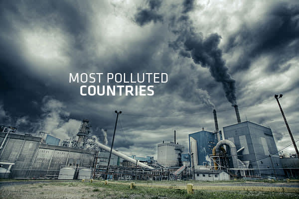 Emerging nations around the world are often heralded for their fast growth, but we don't often hear about the downsides of that rapid development.The World Health Organization (WHO) recently released a report on air quality in countries around the globe, on which we based a list of the ten most polluted countries. Almost all the worst offenders are either major oil and gas producers, or emerging economies that are growing rapidly.The WHO study looked at air quality in 91 countries, measured by t