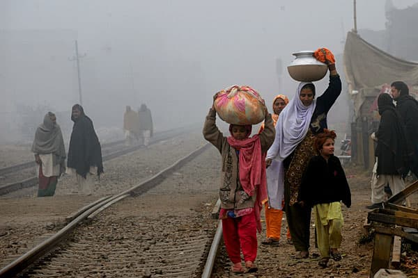 Pollution level: 198 ug/m3Pakistan's air pollution is nearly ten times higher than levels considered dangerous by the WHO.Political instability, corruption and a lack of government measures to curb carbon emissions have led to a cloak of thick smoke over major cities like Karachi, Lahore and Islamabad. In 2008, a government study revealed that every car in Pakistan, regardless of its age, generates 25 percent more carbon than one in the U.S.Karachi, Pakistan's biggest city has a capacity for onl