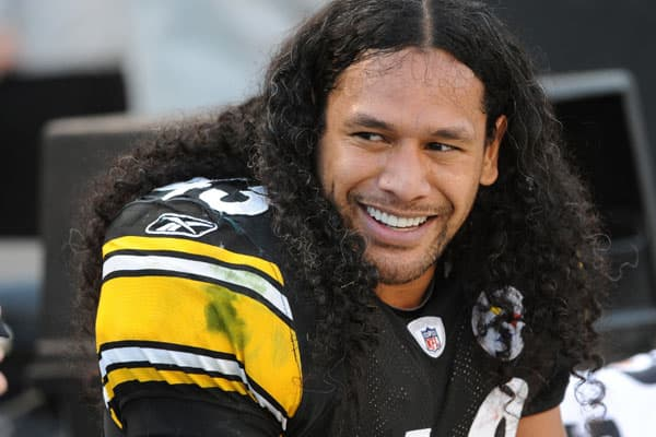 Popular for both his on-the-field play and his characteristic hairstyle, Pittsburgh Steelers safety Troy Polamalu is another perennial fan favorite. Last year's jersey sales leader continued his momentum this year, and it's easy to see why. Pittsburgh is a blue collar town, and Polamalu is a blue collar player. With Ben Roethlisberger's troubles, most new  jersey sales in Pittsburgh are Polamalu's number 43.