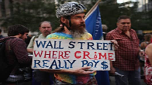 OWS protester
