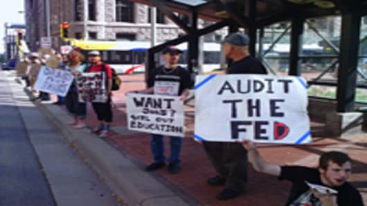 Occupy Minneapolis protesters