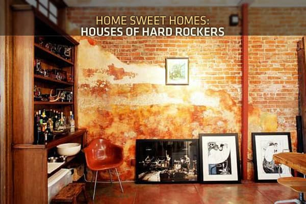 When rock musicians aren't living in tour buses, trashing hotel rooms, or riding proverbial steel horses from gig to gig, most live in proper homes — and some of those homes are quite impressive. In the following slides we feature the homes of hard rockers, young and old. Some of the residences were just completed this year, while another one was built using materials from the 18 century.We have houses from two rockers who go by single names and the homes of two members of one massively influent