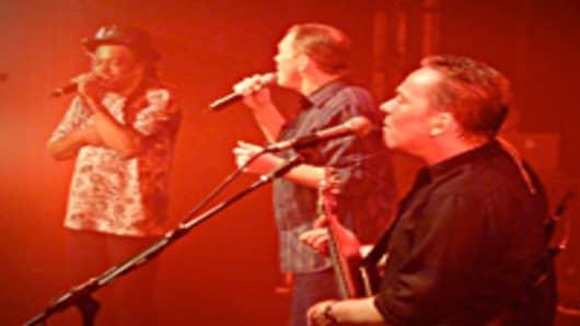 UB40 performing live.