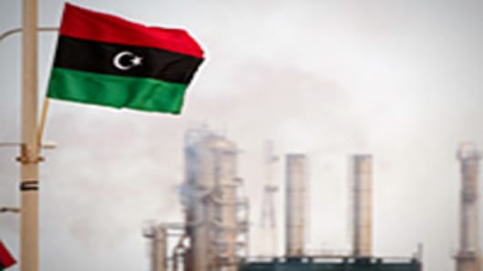 Libya oil refinery