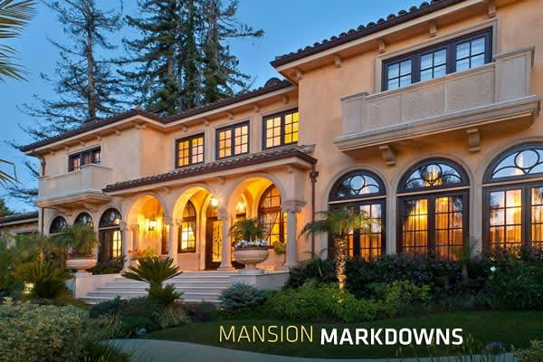 Massive mansion markdowns for Prices of homes in california