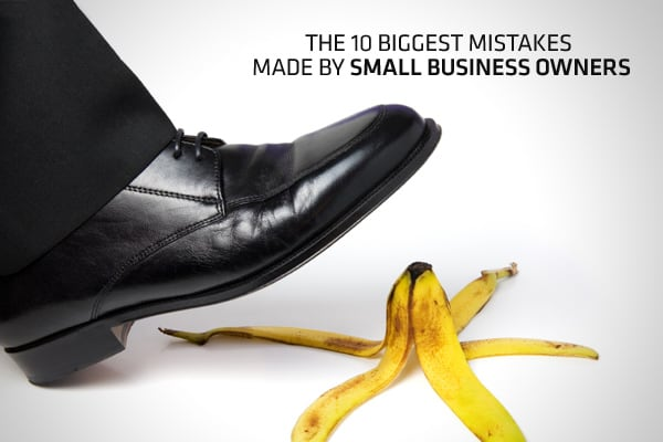Entrepreneurial ventures are fraught with missteps, mishaps and mistakes. No matter how steeped you are in business ownership experience, you are bound to run into problems at some point. The key to your success is to quickly identify your mistakes, learn from them and prevent the same mistake from happening again, says Mike Michalowicz, small business expert and author of Most business owners fall into the same traps. It's those mistakes which could make the difference between owning a successf