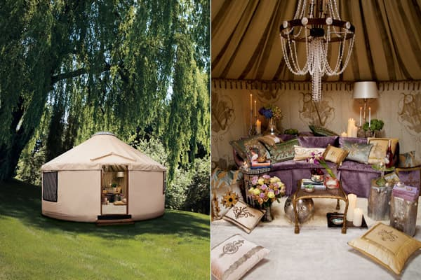 "Price: $75,000 A folly is a foolish action, but it also is a whimsical or extravagant structure built to be a conversation piece or to commemorate a person or an event. This folly does both. Inspired by the classic 1960s TV show ""I Dream of Jeannie,"" this 18 foot in diameter yurt — a structure invented centuries ago by ancient Mongols — may be a serene place to call your own. It's also an item in the famed Neiman Marcus Christmas Book, which is known for its extravagant and whimsical gifts. For"