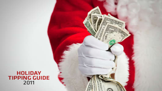 Holiday tipping time is here. If you're looking for advice on how much to give and who should be on your list, we've got you covered. We asked expert Diane Gottsman of The Protocol School of Texas for some guidelines. Plus, what to do when you can't give as much as you'd like. Click ahead to see who gets what.