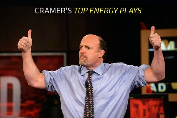 "When faced with a difficult market environment, Jim Cramer likes to fall back on long-term themes that have been working. Take energy, for example. The ""Mad Money"" host noted there has been a boom in oil and gas production in the U.S. Oil-rich regions of the country, such as the Bakken shale in Western North Dakota or the Eagle Ford shale in Texas, are seeing lots of activity. So regardless of current economic conditions, oil and gas companies are benefitting from the recent drilling boom.Of cou"