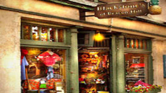 Blackstone's storefront