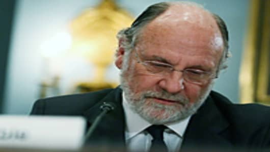Jon Corzine MF Global testimony