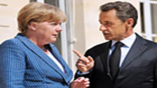 Angela Merkel Nicolas Sarkozy