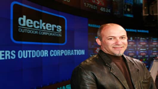 Angel Martinez CEO Deckers