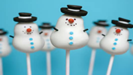 Bakerella's Snowmen Cake Pops