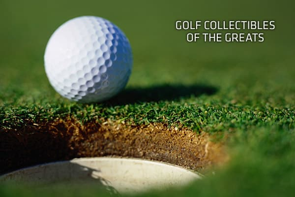 "With more than 15 million U.S. golfers, the market for collectibles has expanded greatly in recent years. Such memorabilia can make good investments that increase in value over time. Experts suggest buying pieces attached to golf's biggest names, especially those who figure prominently in the sport's history. Autographed golf clubs, balls, shoes and gloves fall into this category, as do signed tournament pin flags, action photos or award medallions.""When you consider acquiring golf collectibles"
