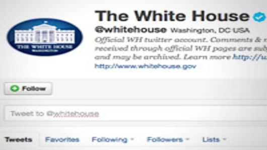 White House Twitter Account