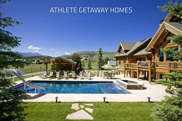 Athletes don't work in offices, restaurants or big box stores like most of us, but that doesn't mean that their lives are stress-free. They need a place to retreat to in the off-season, a sanctuary where they can escape from the anxiety that would plague anyone who's paid millions of dollars to surf for a living.What follows are homes where some of the leading athletes flee after the arena goes dark and the crowd roar becomes a distant echo. Some of these houses are on the market, awaiting buyer