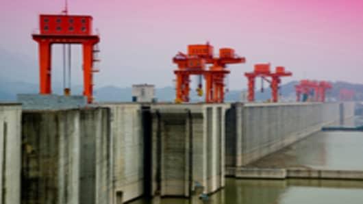 Three Gorges Dam, Yangtze River, China