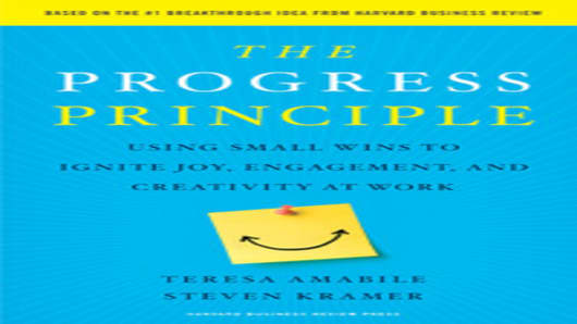 The Progress Principle - by Teresa Amabile & Steven Kramer