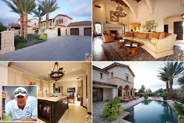 Location: La Quinta, Calif.Cost: $4,195,000Bedrooms: 4Bathrooms: 5Square Footage: 5,173Golfer Fred Couples listed his vacation home in La Quinta, Calif., in November. He's not going far, though. He plans to custom-build a new home in the same development.The house was built in 2008 and purchased the following year for just over $3 million, according to  the blog for the real estate website  Time will tell whether it will attract a buyer at its current asking price of $4.2 million.The home covers
