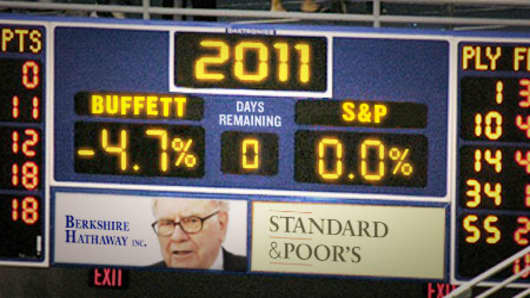 Warren Buffett's Berkshire Hathaway outperformed by S&P
