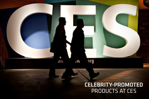 Celebrities are making the rounds again this year at the Consumer Electronics Show in Las Vegas.The tech show has reeled in a star-studded lineup, and the stars are drawing attention.Whether they are endorsing a product or service, revealing their own branded product line or just there to draw crowds to some of the latest innovations, celebrities are everywhere at CES 2012.