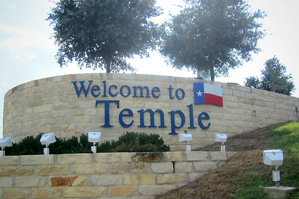 Temple is a central Texas city that originally formed as a railroad junction and still serves as a freight hub. The cost of living in Temple comes in at 86.1 percent of the national average. Temple has the cheapest average prices in this top 10 for the following goods and services:Margarine (tie) 78 cents a poundBread 92 centsKleenex  $1.34Shampoo 77 cents