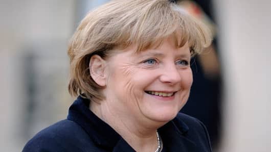 The German chancellor will open the forum in Switzerland. During Europe's debt crisis, Merkel has emerged as a powerful figure. No doubt she'll continue to be much watched at Davos. European leaders on Jan. 14 promised to expedite plans to strengthen spending rules and get a permanent bailout fund established, after Standard & Poor's of several euro zone countries' creditworthiness.