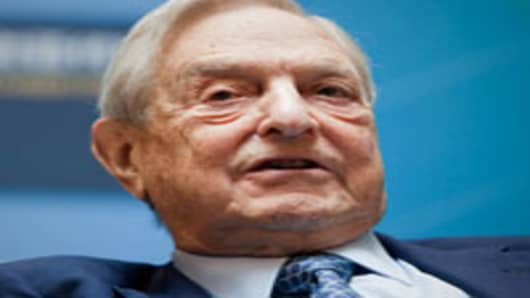 George Soros, founder of Soros Fund Management LLC.