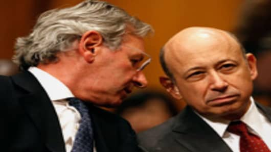 Lucas van Pragg and Lloyd Blankfein