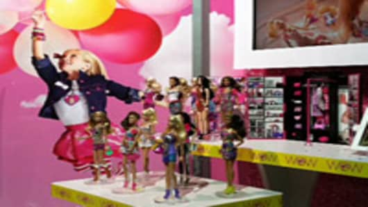 Barbie at Fashion Week 2012