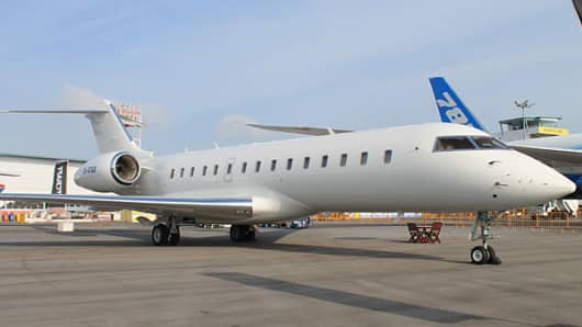 Bombardier Global Express business jet
