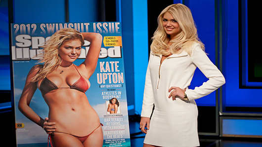 Kate Upton shows off her 2012 Sport Illustrated Swimsuit Cover