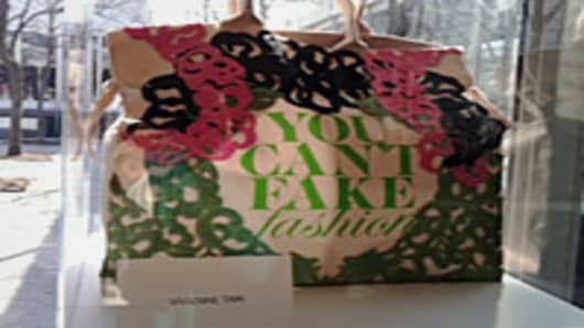 Vivienne Tam 'You Can't Fake Fashion' Tote