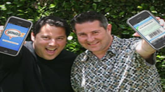 Co-founders of Yowza (left to right): Greg Grunberg and August Trometer