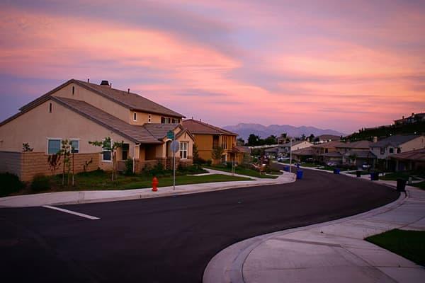 San Bernardino suburb