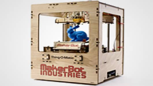 The MakerBot Thing-O-Matic® 3D Printer kit