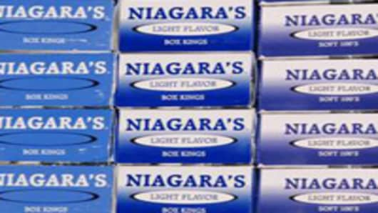 Niagara Cigarettes from Oneida Indian Nation