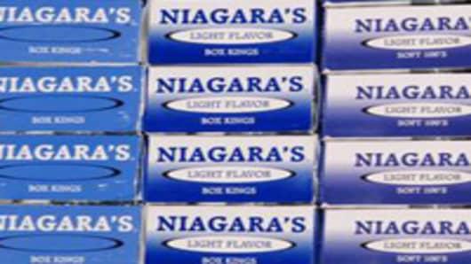 Niagara Cigarettes from Oneida Indian Nation