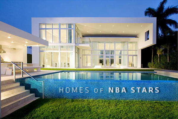 In the fickle world of celebrity real estate, athletes are among the more likely people to buy and sell and rent new homes, as they are subject to the whims of where their contracts take them. And in the slides to follow, you'll also see a few properties affected by the 2011 NBA lockout.