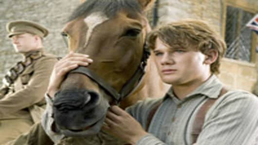 "Jeremy Irvine, pictured here in the movie ""War Horse,"" was one of the actors spotted at the Cannes Film Festival."
