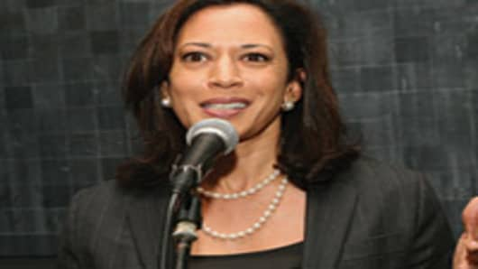 California's attorney general, Kamala D. Harris