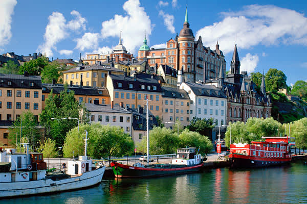 Per-capita GDP: $61,458Stockholm is the capital and largest city in Sweden. As the country's financial center, it's home to such major national banks as Handelsbanken, Skandinaviska Enskilda Banken and Swedbank, as well as such insurance companies as Skandia and Trygg-Hansa.Of all the venture capital investments in Sweden, more than one-third are in Stockholm, and though most are in the areas of electronics and information technology, the largest individual investments are in biotechnology, chem