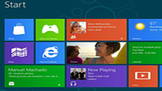 Microsoft Windows 8 new interface
