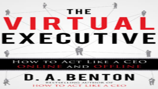 The Virtual Executive by D.A.Benton