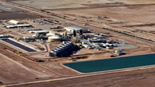 Simbol Materials and Geothermal Plant site at Salton Sea region, Ca.