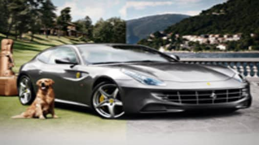 The 2012 Ferrari FF, sold exclusively in the Neiman Marcus Christmas Book, sold out in 50 minutes. Ferrari North America says more women are now buying Ferraris.