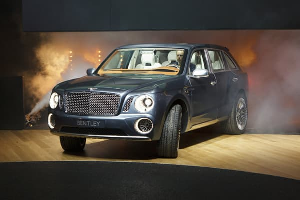 "Price: Approx. $250,000It has been a good start to the year for luxury car maker Bentley with sales jumping 50 percent in 2012 so far. Wolfgang Dürheimer, president and CEO of Bentley, told CNBC, ""For Bentley, we have tremendous times. We finished the year 2011 with overall sales growth of 37 percent, and even in the first month of this year, we are very good again. It is 47 percent-plus, on a worldwide average. So the luxury market runs again and we are very happy, and Bentley is prepared to be"